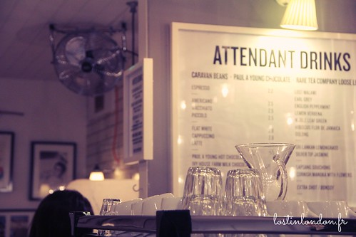 the attendant coffee place london