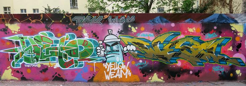 Yellow Weam Yard 5 graffiti jam berlin