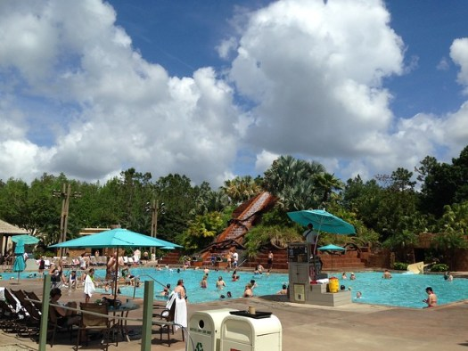 Pool at Coronado Springs, WDW