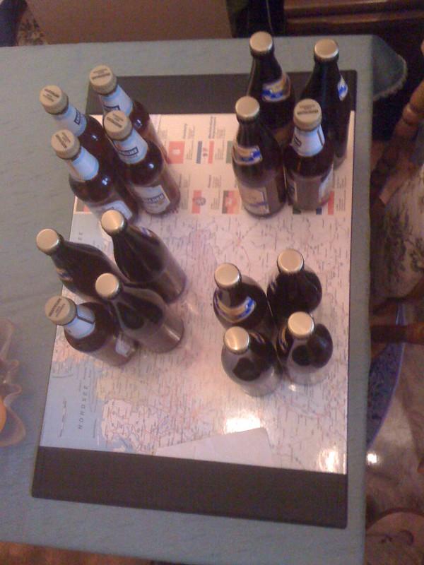 Weizenbier Flaschen