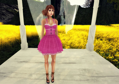 Has Been Sandy Dress Pink