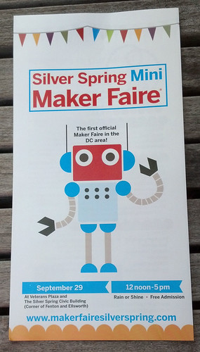 Silver Spring Mini Maker Faire, September 29, 2013