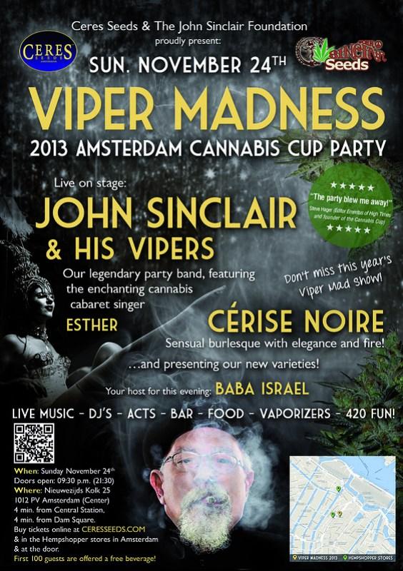 John Sinclair - Viper Madness 24th November 2013