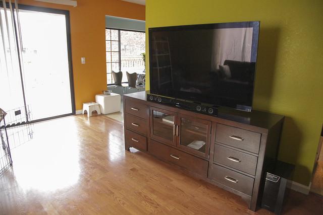TV in Media Room
