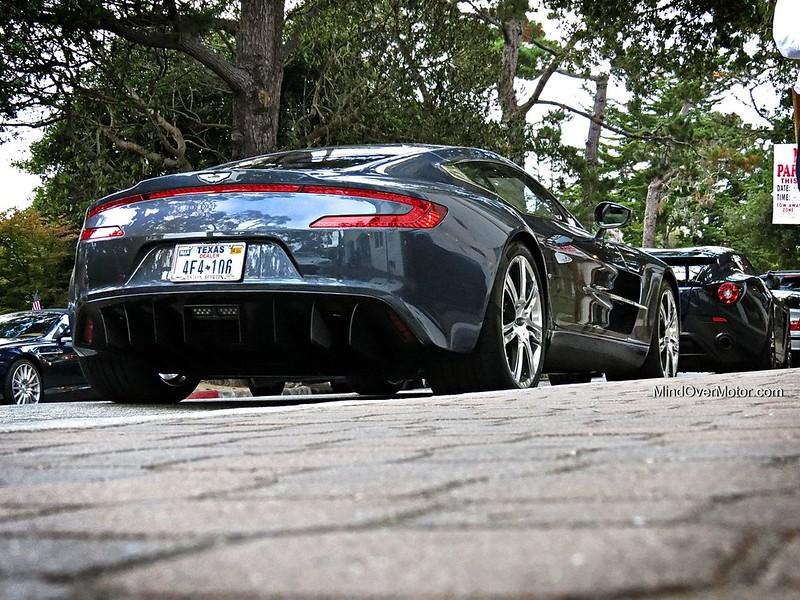 Aston Martin One-77 during Monterey Car Week 2013