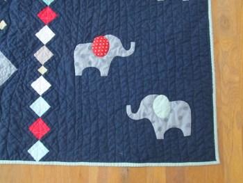 Elefun Baby Quilt