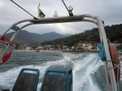 Departing Conceição de Jacareí for Ilha Grande
