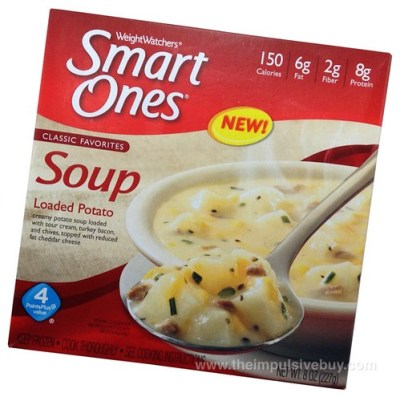 Weight Watchers Smart Ones Classic Favorites Loaded Potato Soup
