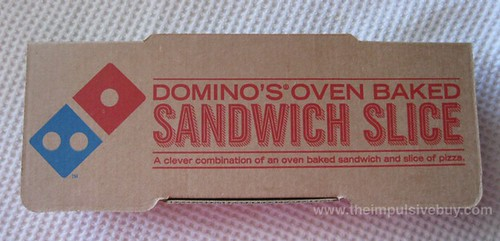 Domino's Sandwich Slice Box