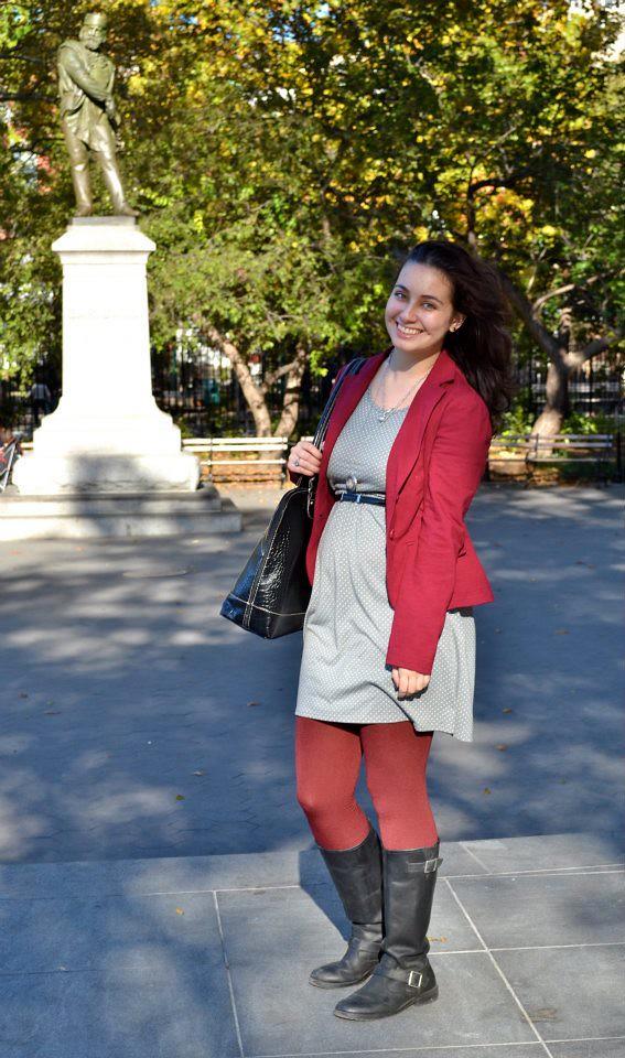 Maroon and Gray for Fall | Shades of Sarah