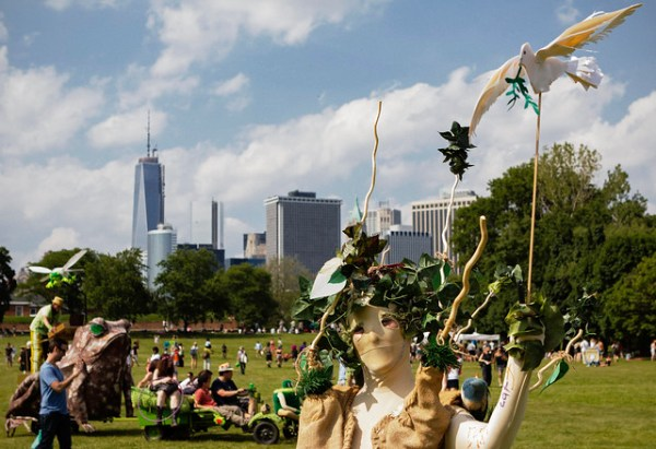 Giving Tree | Figment Arts Festival Governors Island