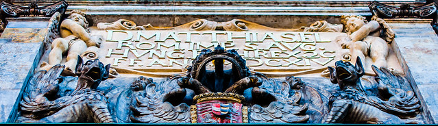 Prague Castle secondary gate Tympanum