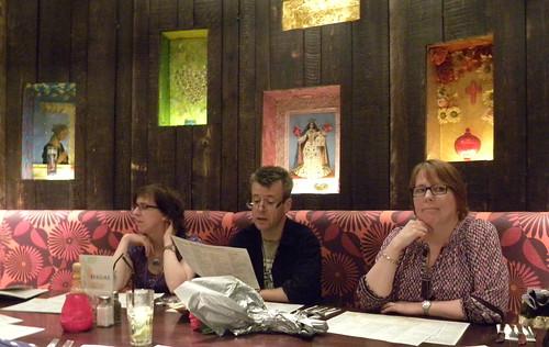 George Kirk, Jon Mayhew and Teri Terry