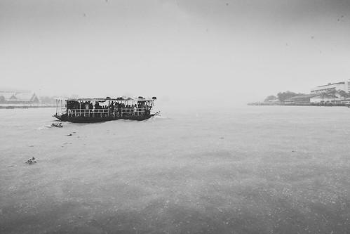 Little Boat on Chao Phraya River