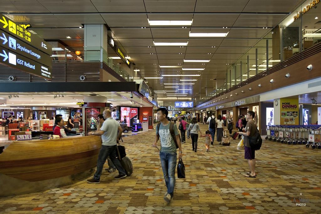 Departure Concourse