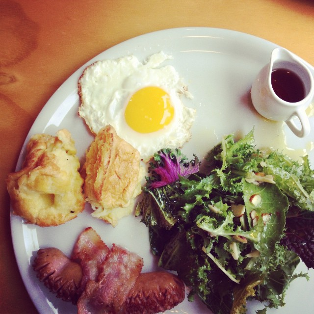 Hongik is chockfull of these quaint breakfast places. Meet today's hangover cure.