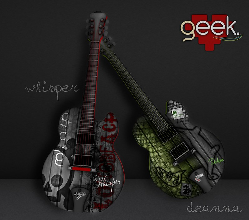 Whisper/DeAnna Guitars <3