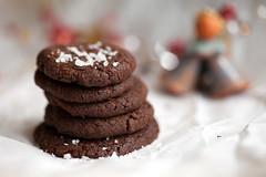 Chocolate meets fleur de sel cookies