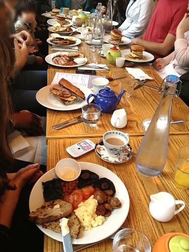 Breakfast at The Empress, Victoria Park