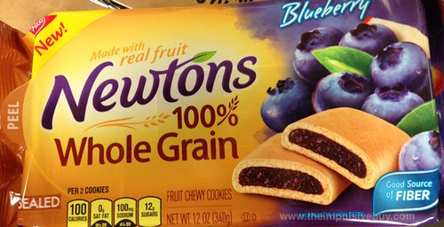 Nabisco Blueberry Newtons