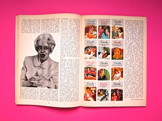Alter Alter, marzo 1979, anno 6, numero 3. Direzione: Oreste del Buono, art director: Fulvia Serra. Pag. 50 e 51 (part.), 1