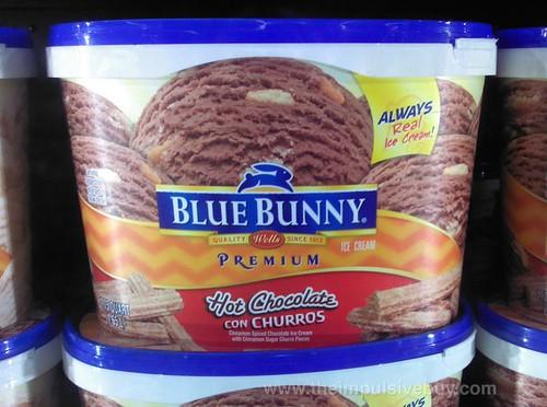Blue Bunny Hot Chocolate con Churros Ice Cream