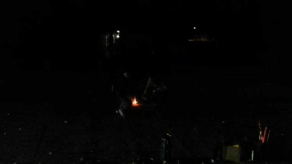 NYE 2014 - midnight (video)