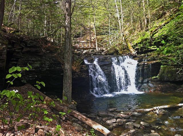 Wyandot Falls (15'), Glen Leigh.