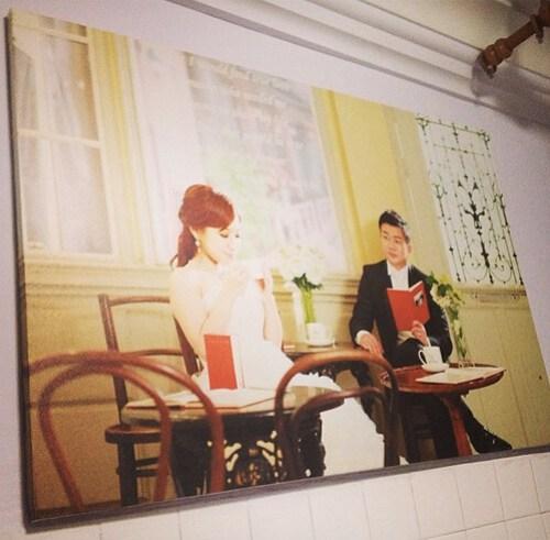 Singapore Wedding Blog, nadnut, Korea photoshoot, Singapore Lifestyle Blog, Korea wedding photoshoot, Spicy Canvas, Printing wedding photos on canvas