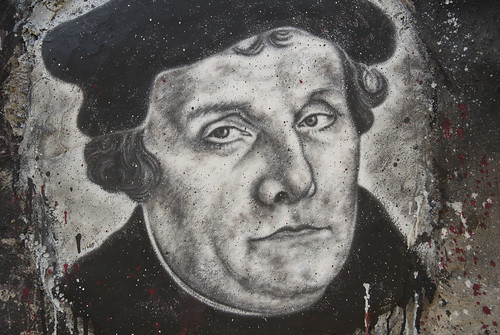 Martin Luther, painted portrait DDC_8746