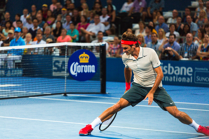 Roger Federer Brisbane International