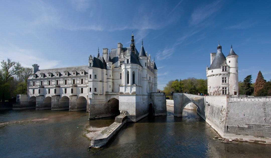 Otra vista del castillo de Chenonceaux. Autor, Telemaque