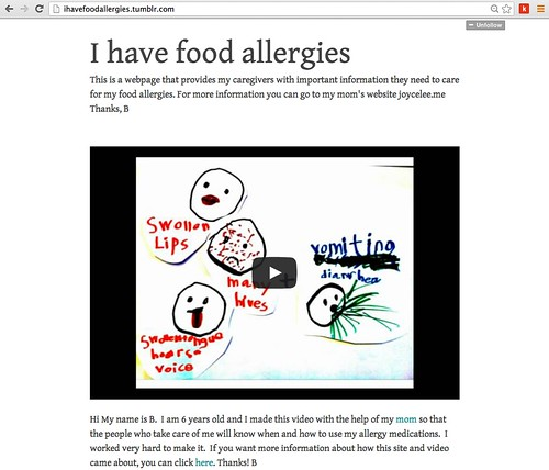 I Have Food Allergies