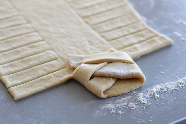 Braiding Vetebröd (Cardamom Bread)