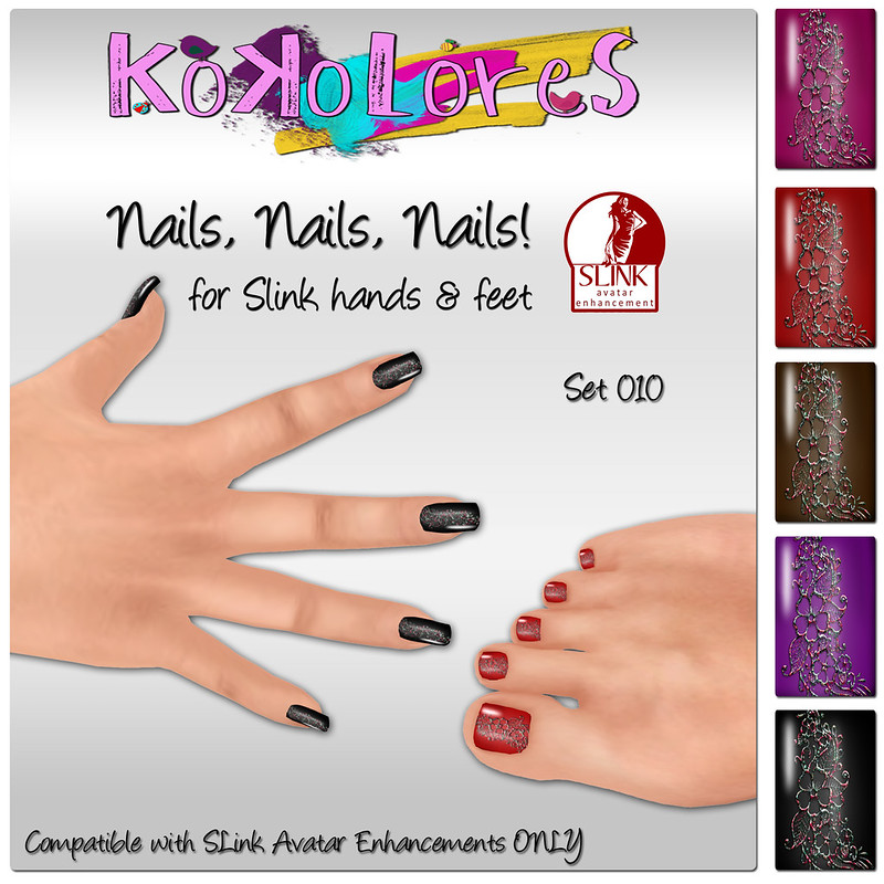 [KoKoLoReS] Nails, Nails, Nails! Set 010