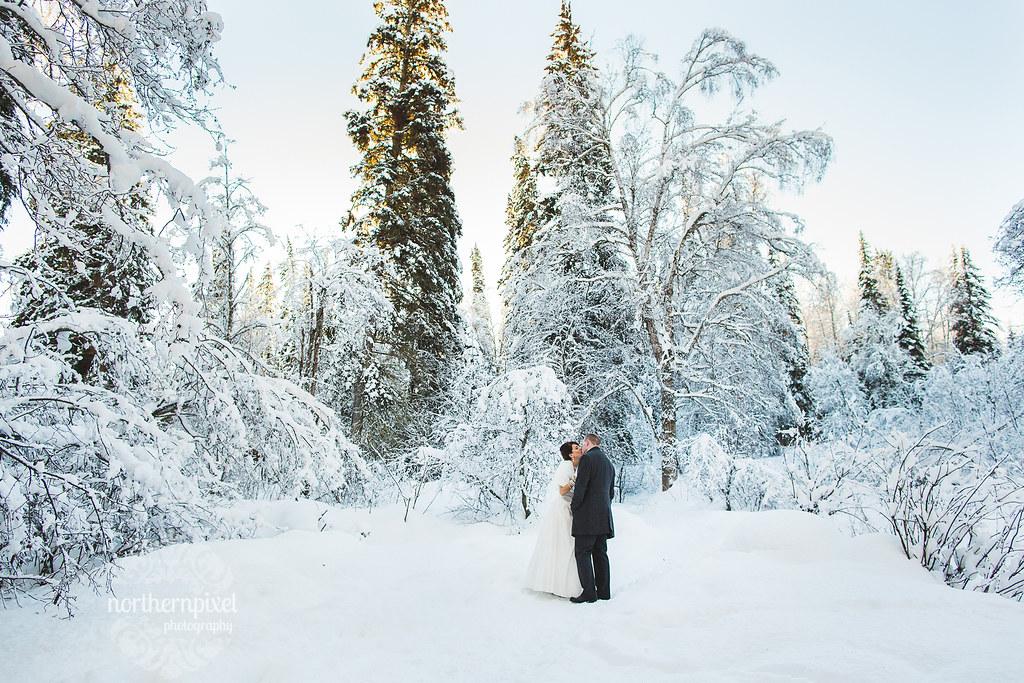 Winter Wedding - Prince George BC