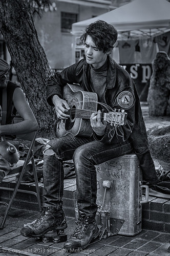 Stop & Listen | Pearl Street Mall, Boulder, CO | May, 2013 by Somnath Mukherjee Photoghaphy