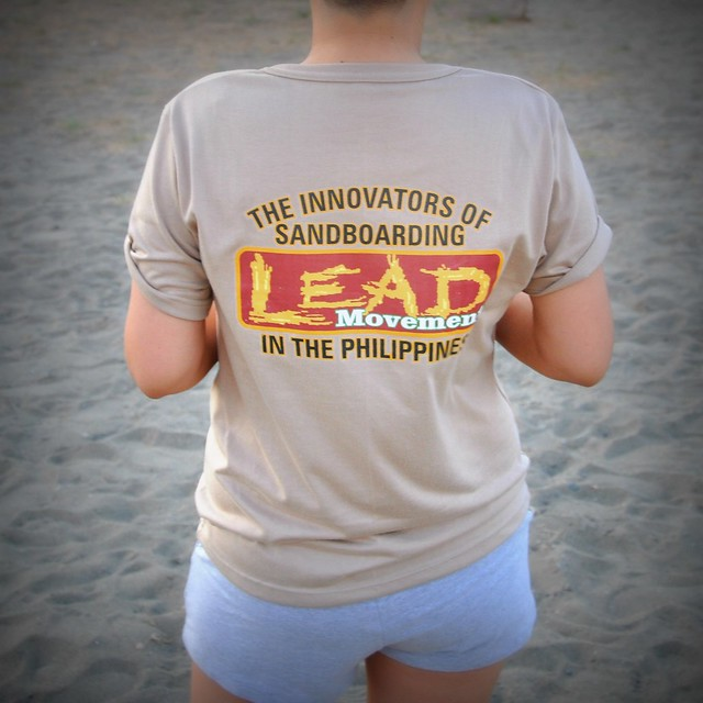 Laoag Eco-Adventure Developmet (LEAD) Movement tee