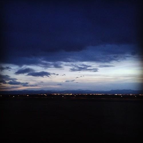 #denver lights by @MySoDotCom