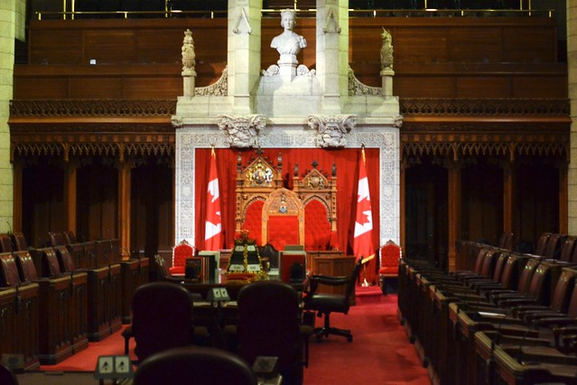 Canadian Parliament--Senate Chamber