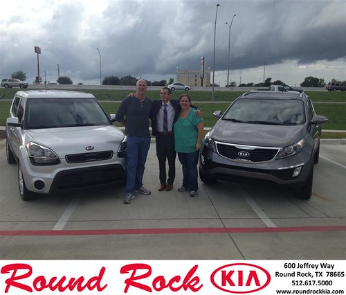 Thank you to Trent Makare on your new 2013 #Kia #Soul from Derek Martinez and everyone at Round Rock Kia! #NewCarSmell by RoundRockKia