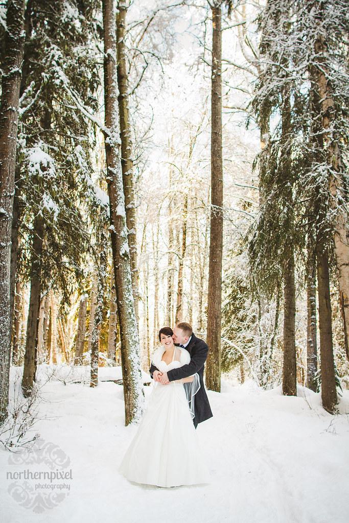 Winter Wedding - British Columbia Wedding Photographer