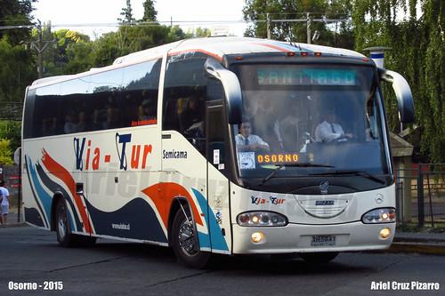 Via Tur - Osorno (Chile) - Irizar Century / Mercedes Benz (XH5941)