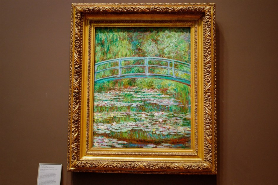 MoMA - Bridge over Pond of Water Lilies by Monet