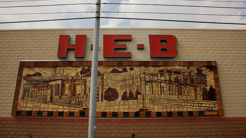 MOSAIC H-E-B Mural