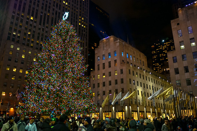 rockerfeller christmas tree