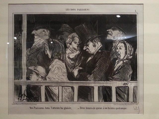 Expo : Les Parisiens de Daumier
