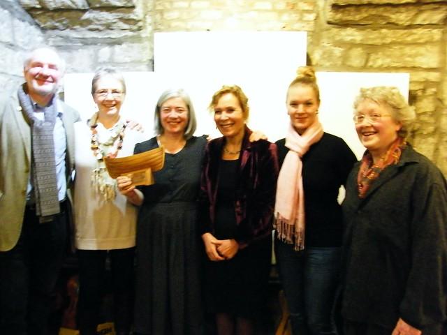 MOMA2014: winner Meg Bateman, and some alumni!