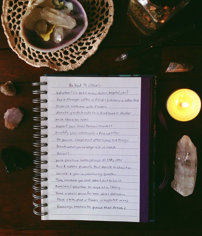february list be kind to others at http://violet-woods.blogspot.com