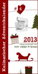 Kulinarischer Adventskalender 2013 - Türchen #6
